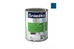 Масляно-фталевая эмаль Sniezka Supermal глянцевая синяя, 0,8л