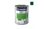Масляно-фталевая эмаль Sniezka Supermal глянцевая зеленая, 0,8л