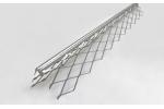 Уголок для мокрых штукатурок стальной, 3м (ПрофиГипс)