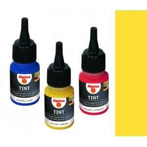 Колеровочный концентрат Alpina Tint 1 HELLGELB (светло-жёлтый), 20мл