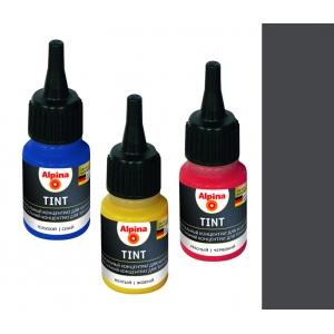 Колеровочный концентрат Alpina Tint 16 SCHWARZ (чёрный), 20мл