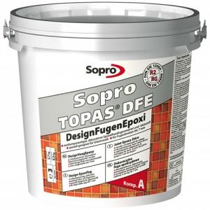 Затирка эпоксидная декоративная Sopro Topas DFE 1001-799 белая, 3кг