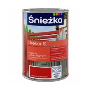 Грунт-краска антикоррозийная Sniezka Urekor S пепельная, 1л